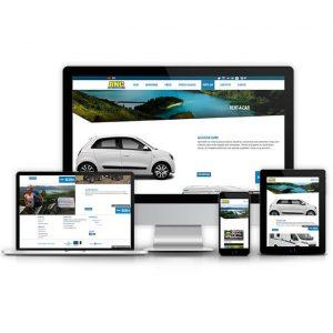 AZORES HOLIDAYS – RESPONSIVE WEBSITE