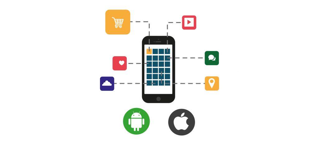 Criação de aplicações móveis para android e ios