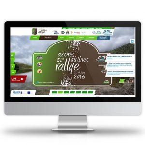 AZORES AIRLINES RALLYE – WEBSITE