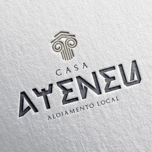 CASA ATENEU – LOGOTIPO E CARTÃO DE VISITA