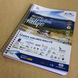 AZORES AIRLINES RALLYE – DESIGN GRÁFICO
