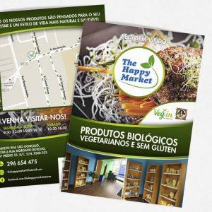 The Happy Market – Flyer   Cartão Visita