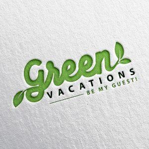 Green Vacations – Logotipo
