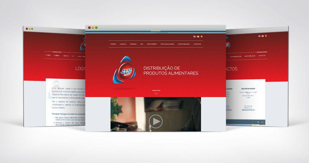 site para empresa de distribuição