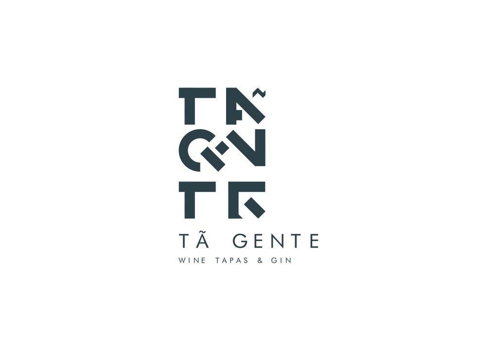 logotipo de restaurante versão branco e cinza