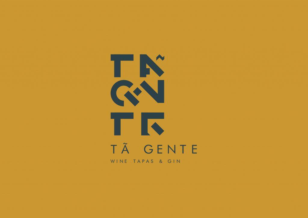 logotipo de restaurante versão castanho e cinza