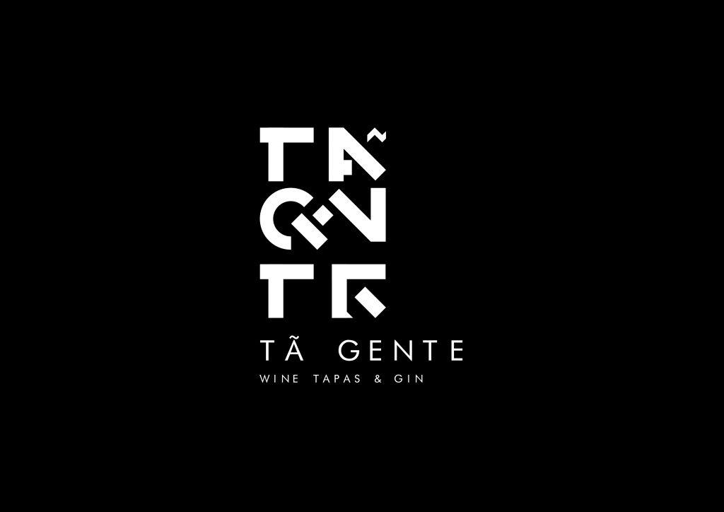 logotipo de restaurante versão preto e branco