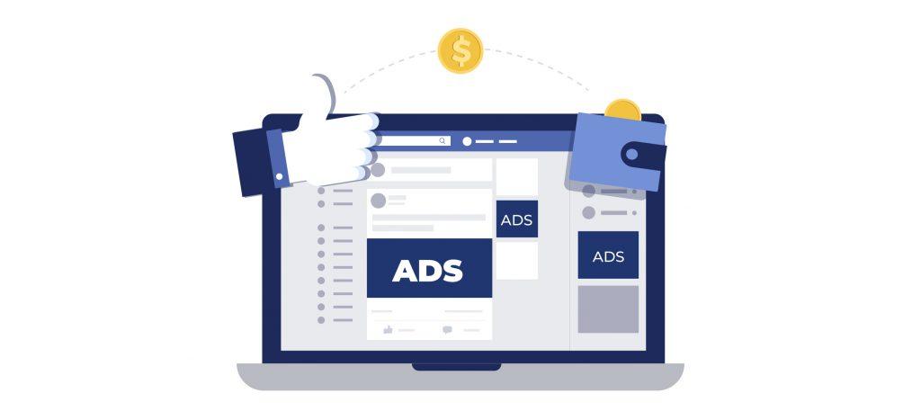 anúncios no facebook