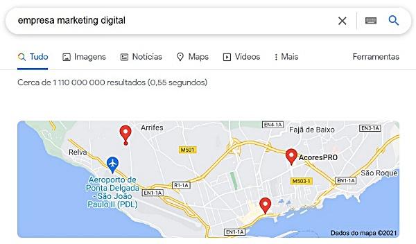 Localização google